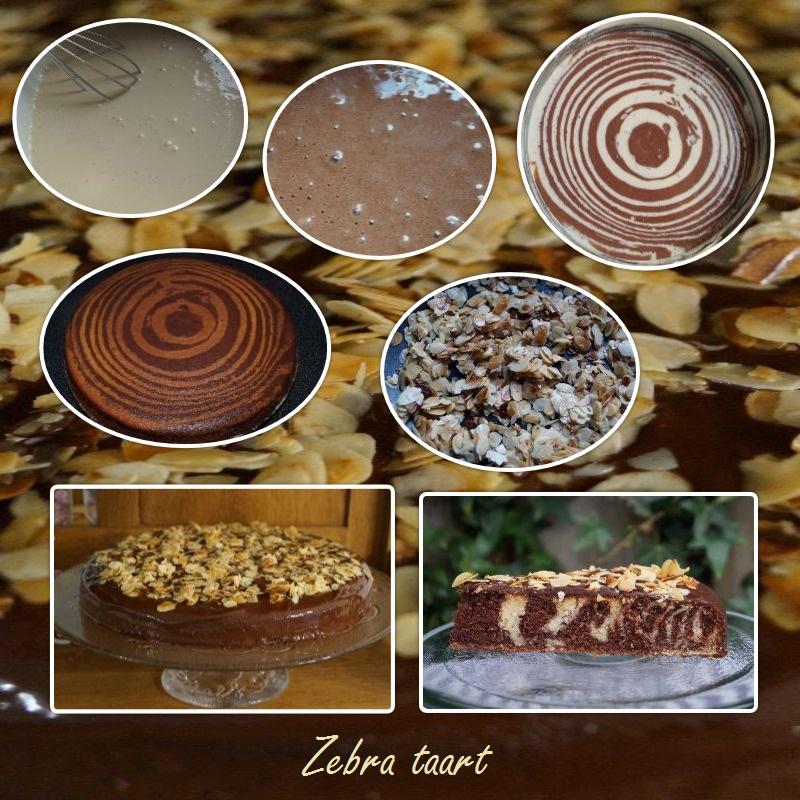 zebra-taart